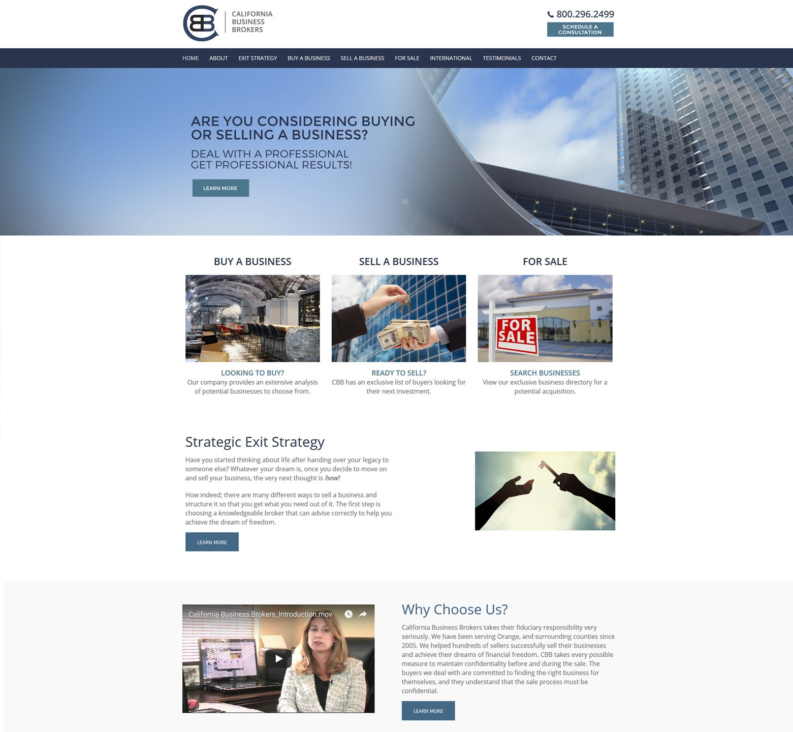 LA Angeles Business Broker Web Design Company