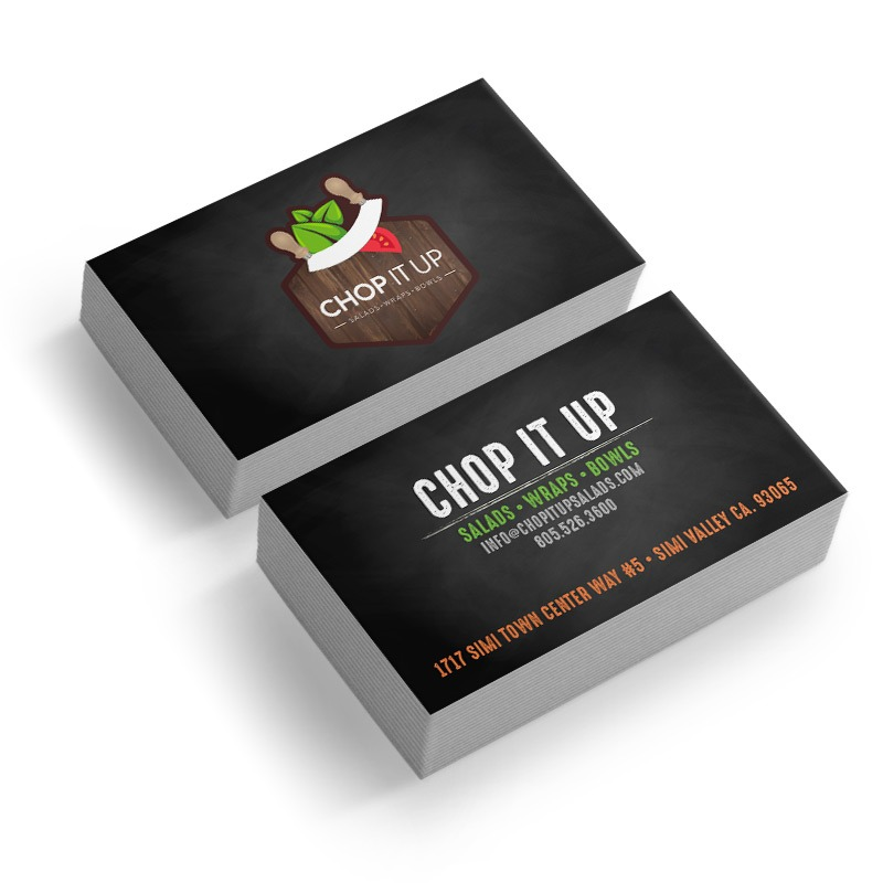 Restaurant Business Card Designer