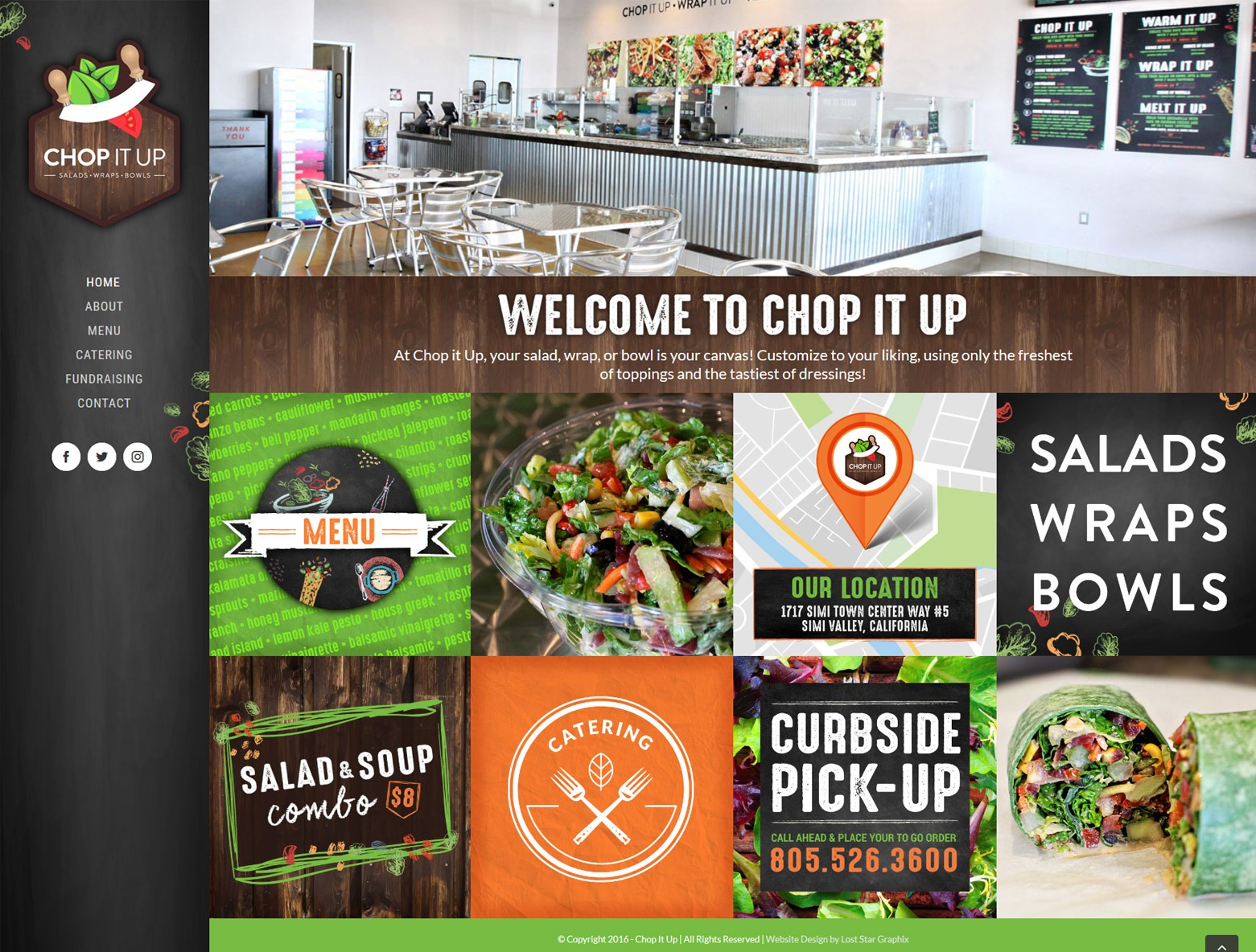 Los Angeles Restaurant Web Design Company
