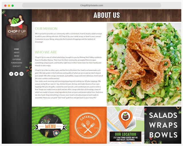Restaurant Website Company