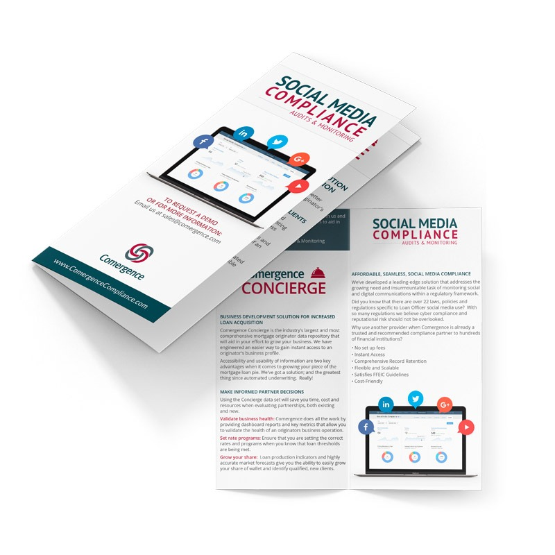 Mortgage Compliance Brochure Design Company
