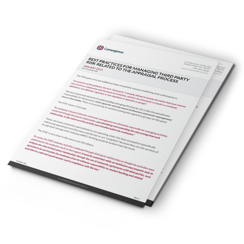 Mortgage Compliance Whitepaper Designer