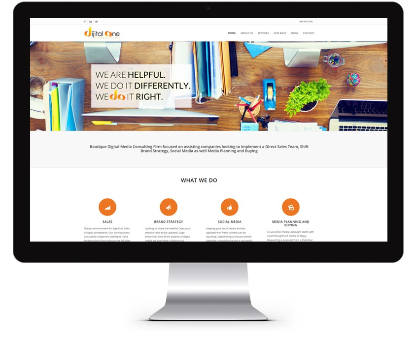 Orange County Consulting Web Design Company