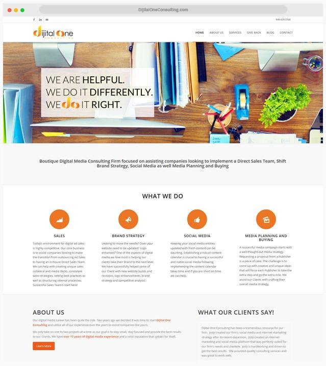 Consulting Web Designer