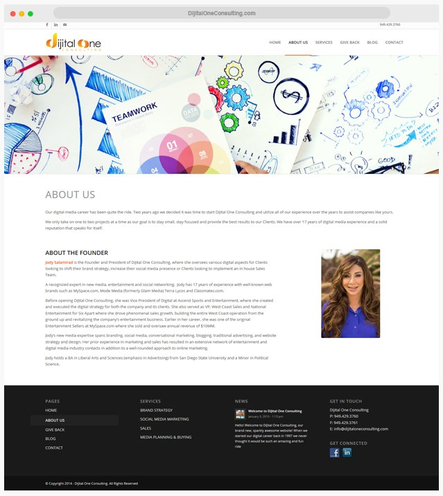 Consulting Website Company