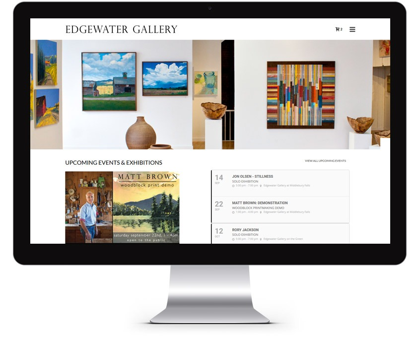 Orange County Art Gallery Web Design Company