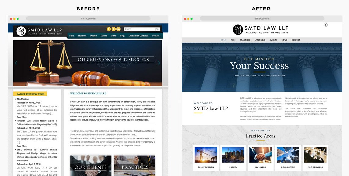 Law Firm Website Redesign