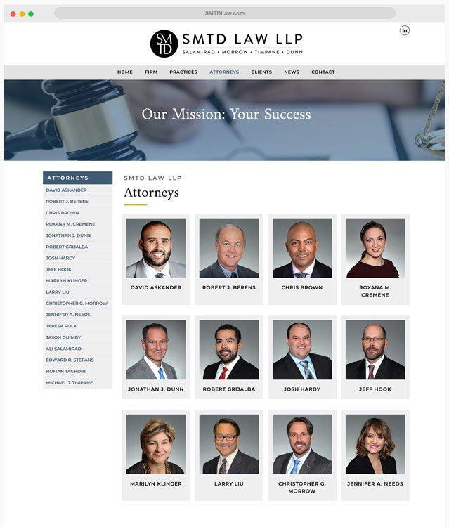 Lawyer Web Designer
