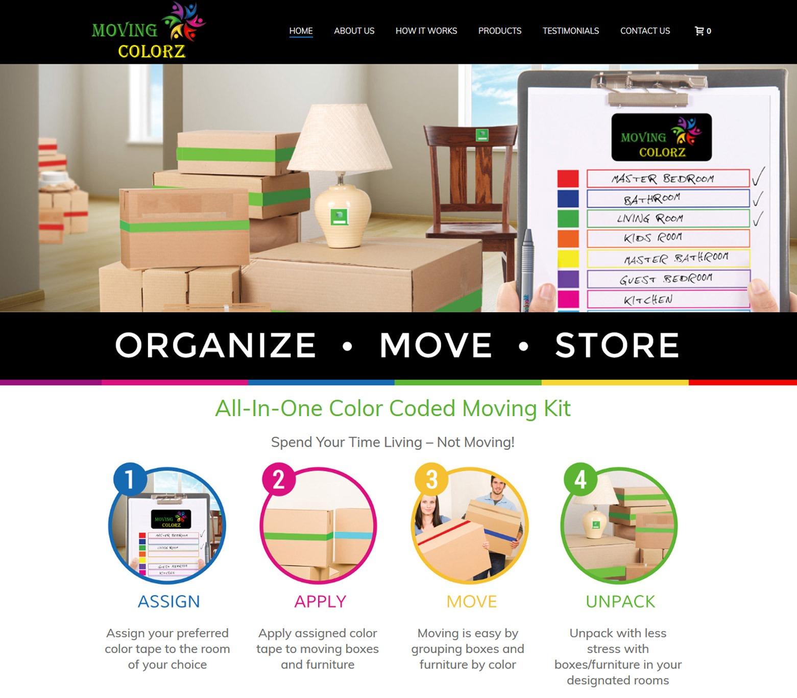 Los Angeles Storage Company Web Design Company