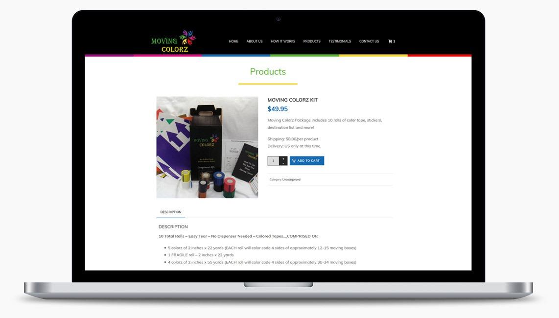 Orange County Storage Company Web Designer
