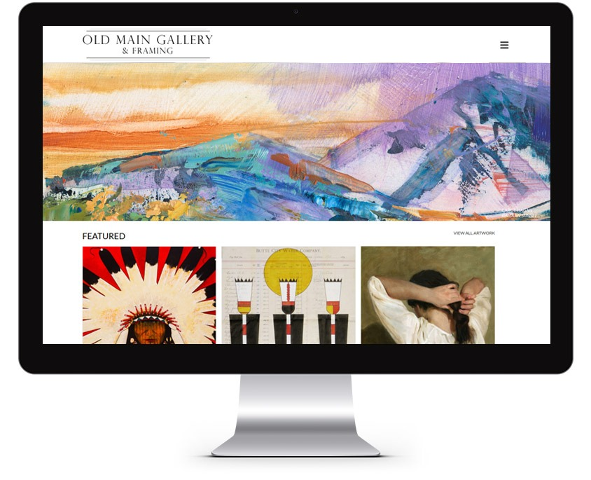 Orange County Gallery Web Design Company