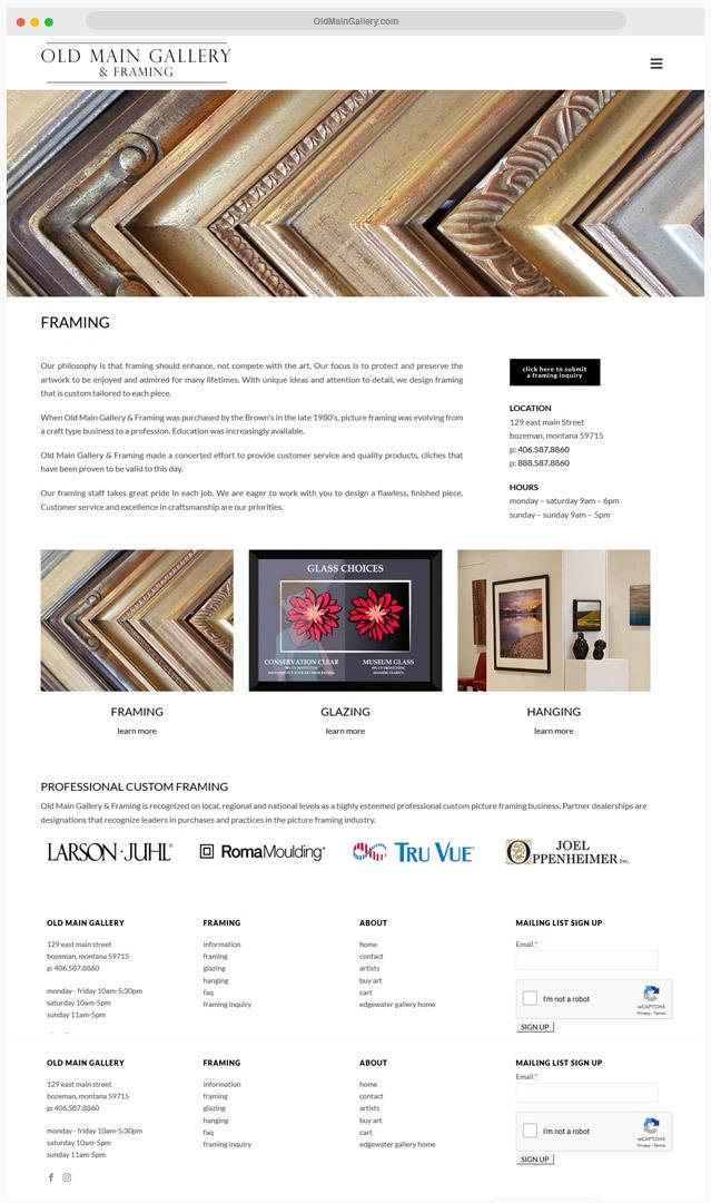 Gallery Website Builder