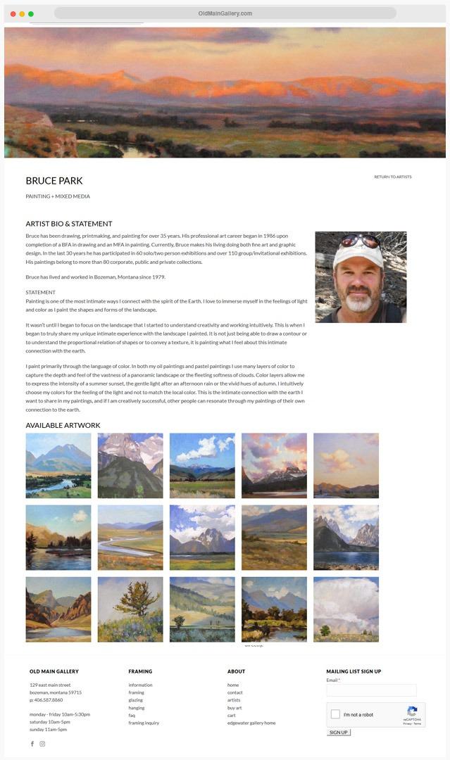 Gallery Web Site Builder