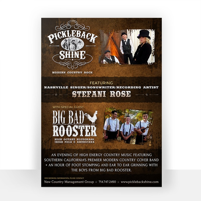 Band Poster Design Company