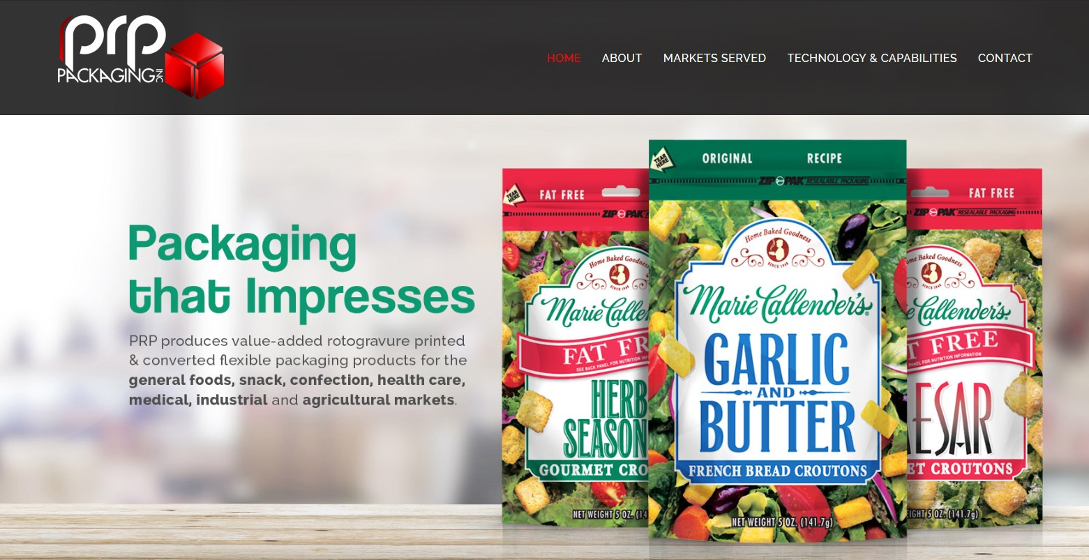 Product Packaging Web Design Builder