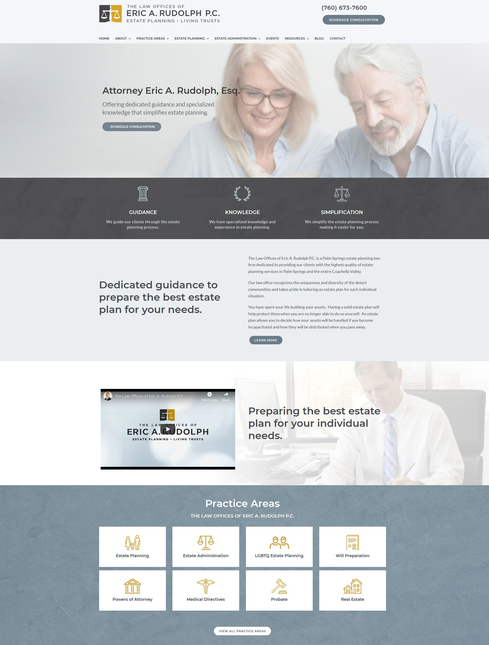Estate Planning Lawyer Web Design Company