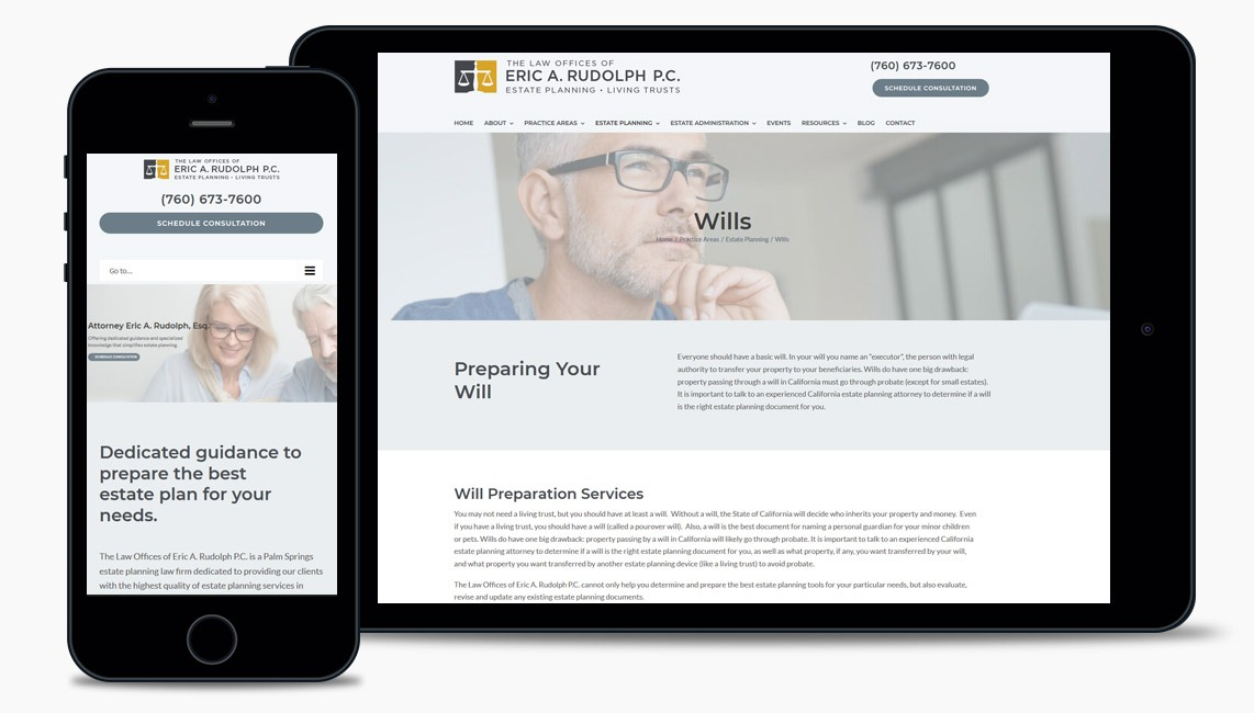 Website Design for Law Firm