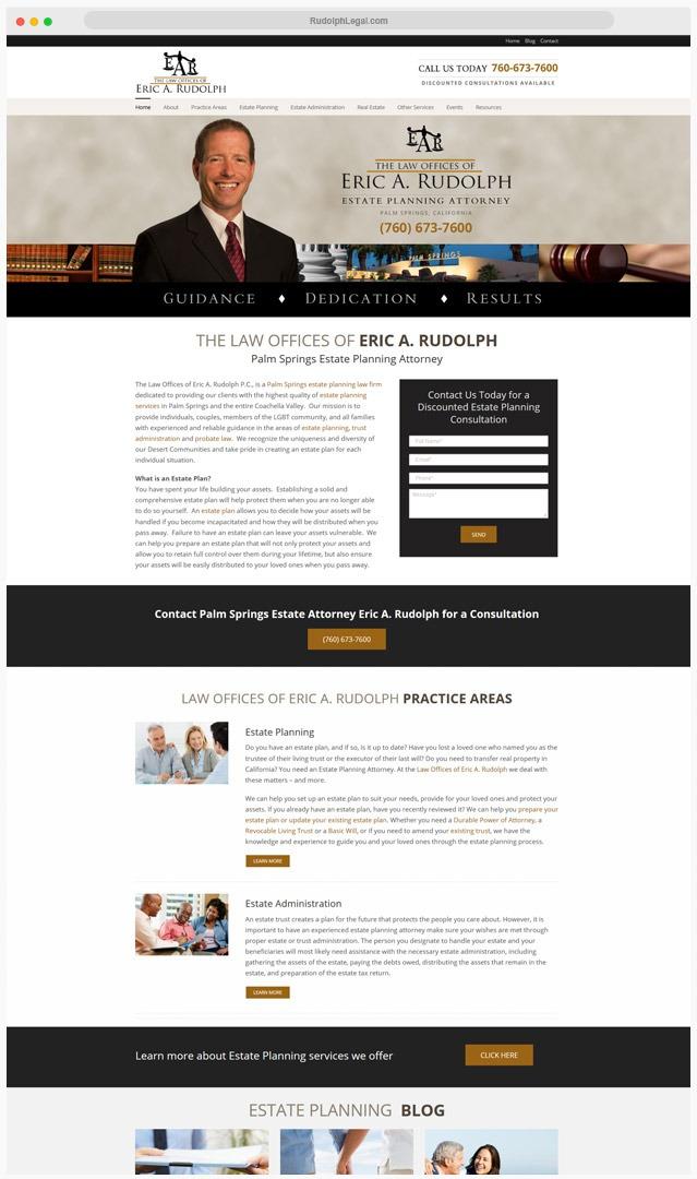 Attorney Web Designer