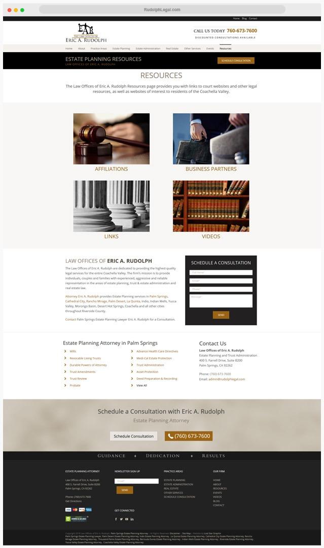 Estate Lawyer Web Designer