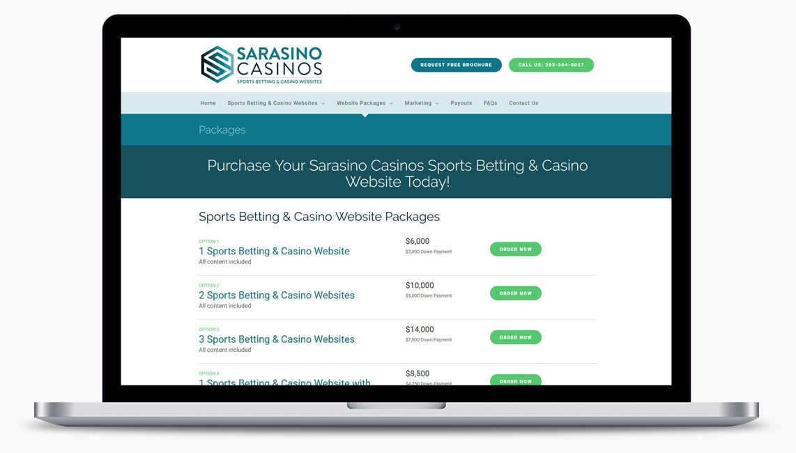 Sports Betting Web Design Company