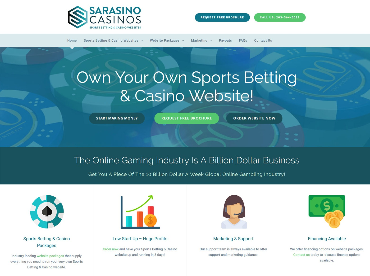 Casino Website Designer