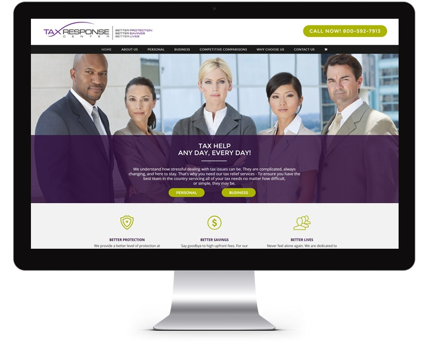 Orange County Tax Company Web Design Company