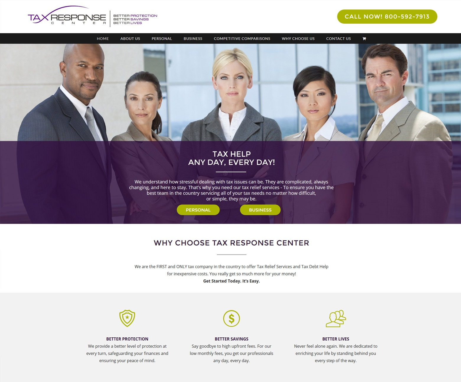 Los Angeles Tax Company Web Design Company