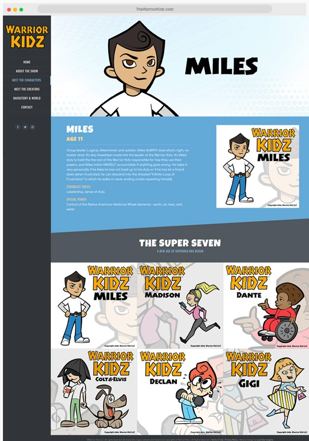 Animated Show Website Company
