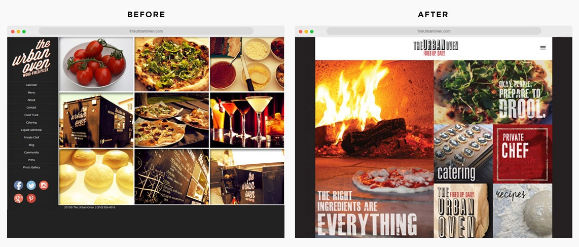 Orange County Pizzeria Web Designer