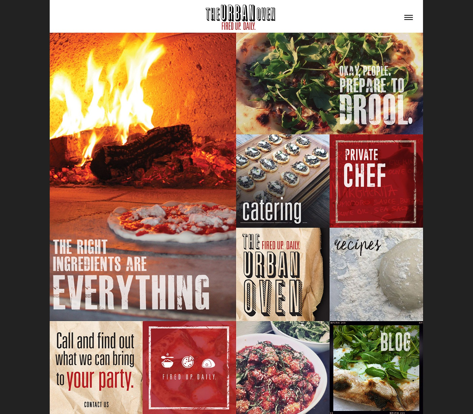 Los Angeles Pizzeria Web Design Company