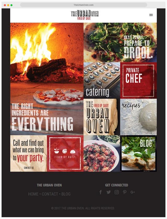 Pizzeria Web Designer