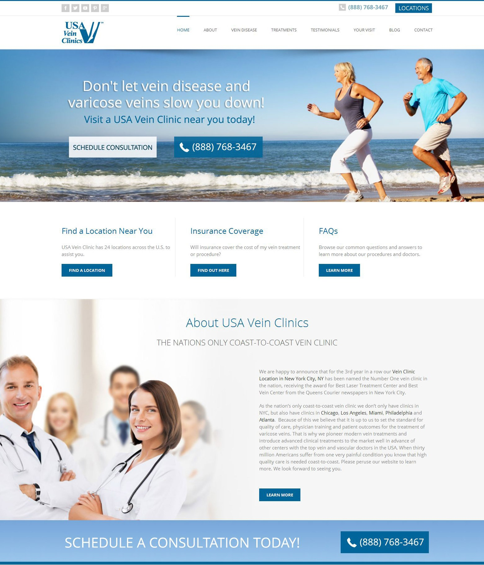 LA Angeles Medical Office Web Design Company