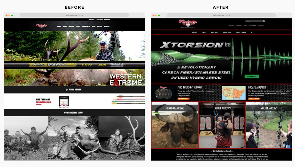 Orange County Archery Web Designer