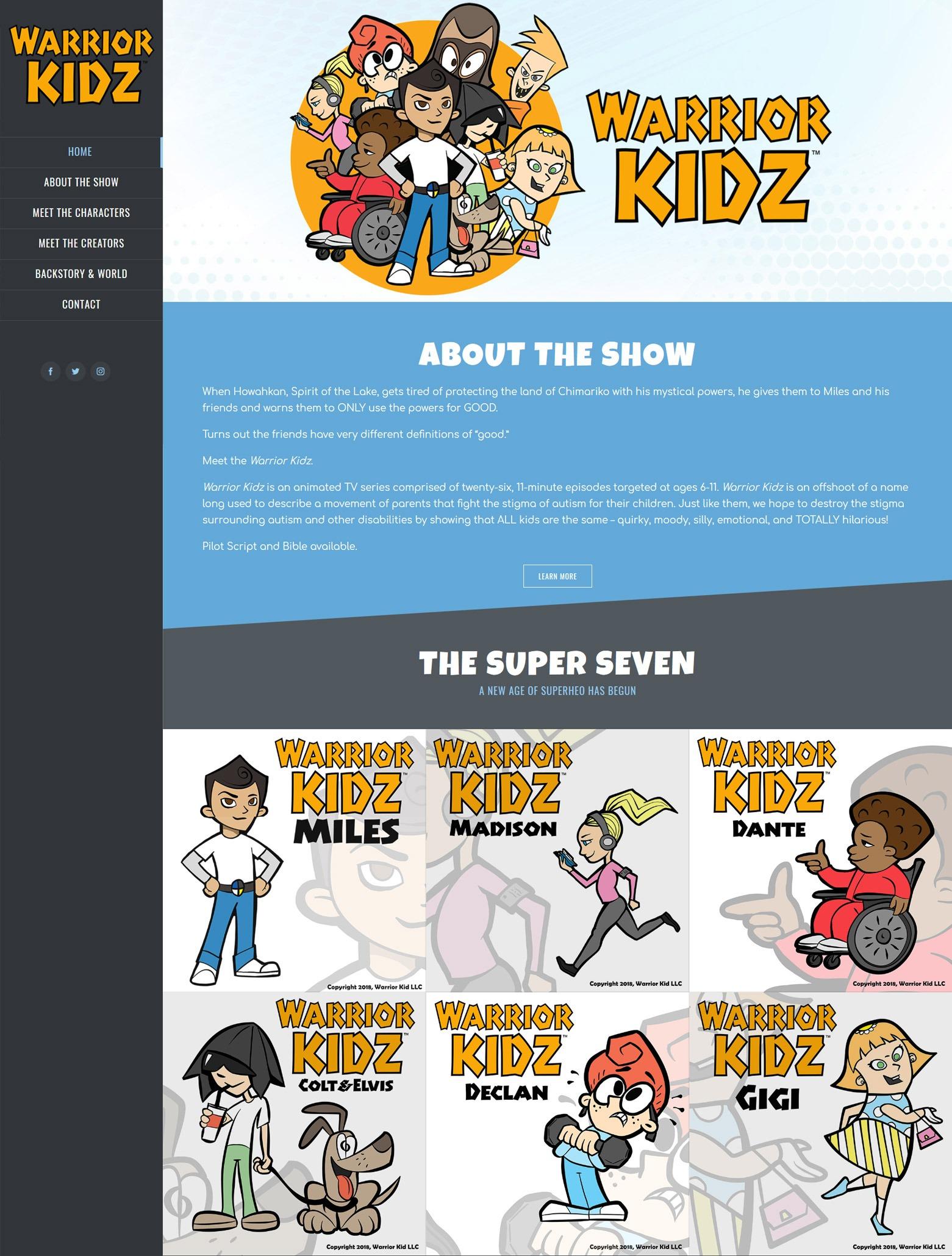 LA Angeles Animated Show Web Design Company