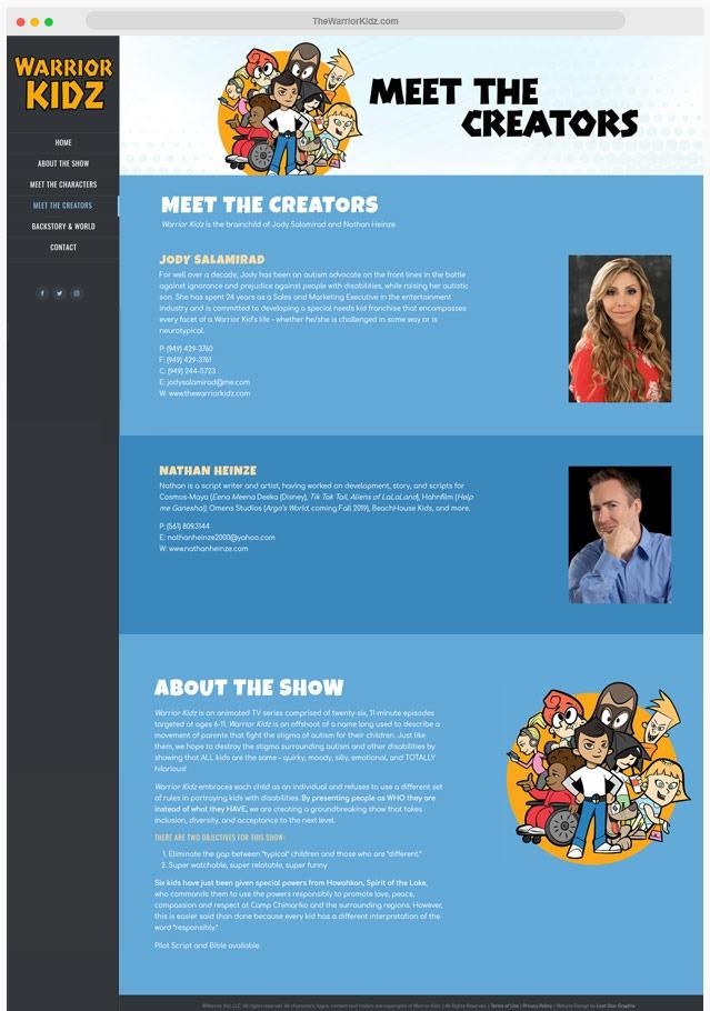 Animated Show Web Designer