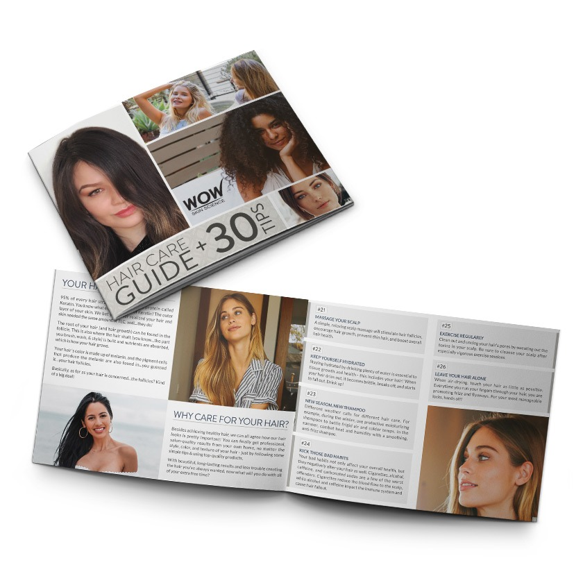 Hair Care Brochure Design Company