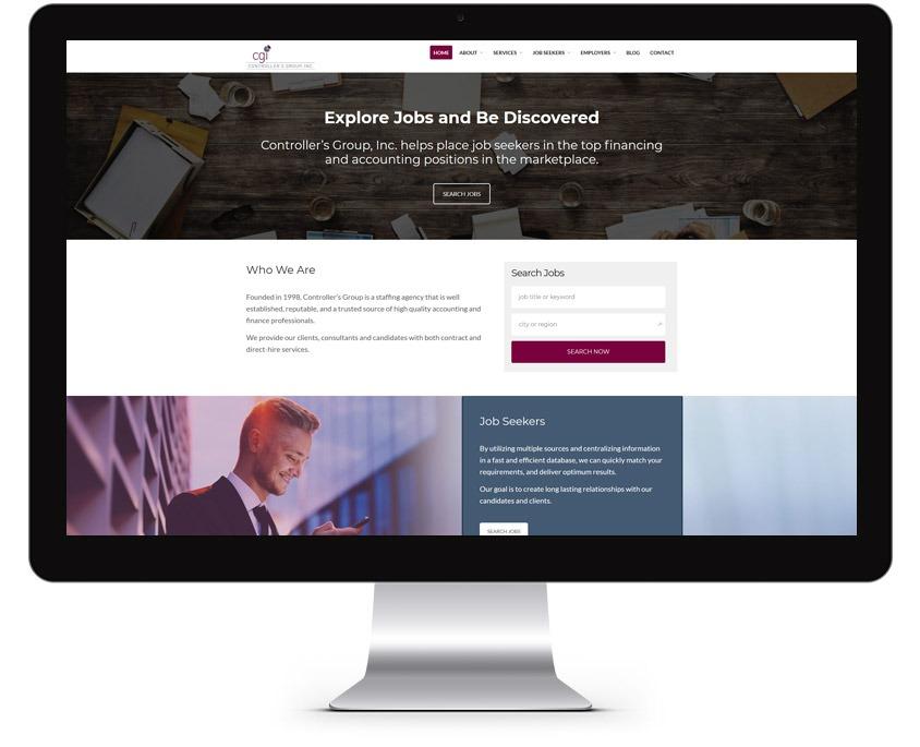 Orange County Job Recruiter Web Design Company