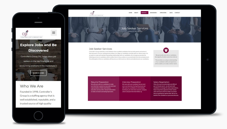 Job Recruiter Web Design Company