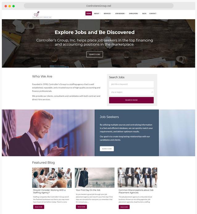 Finance Web Design Company