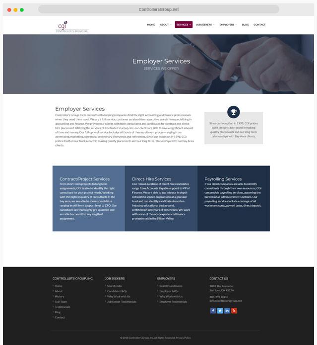 Ventura County Job Recruiter Web Design Company