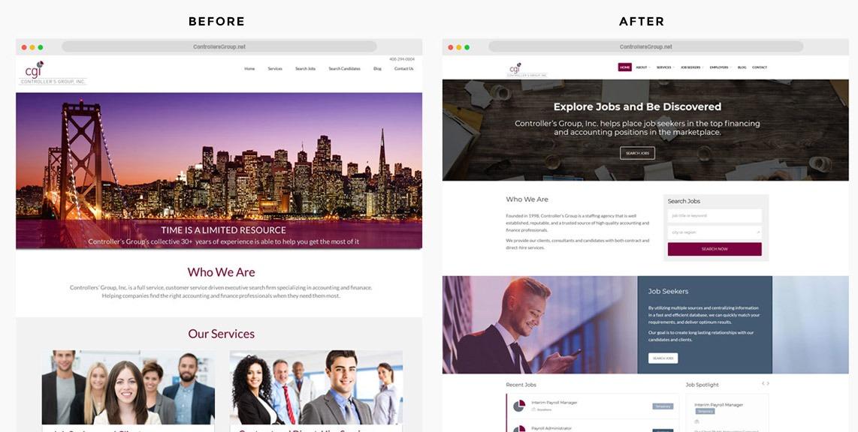 Job Recruiter Web Designer