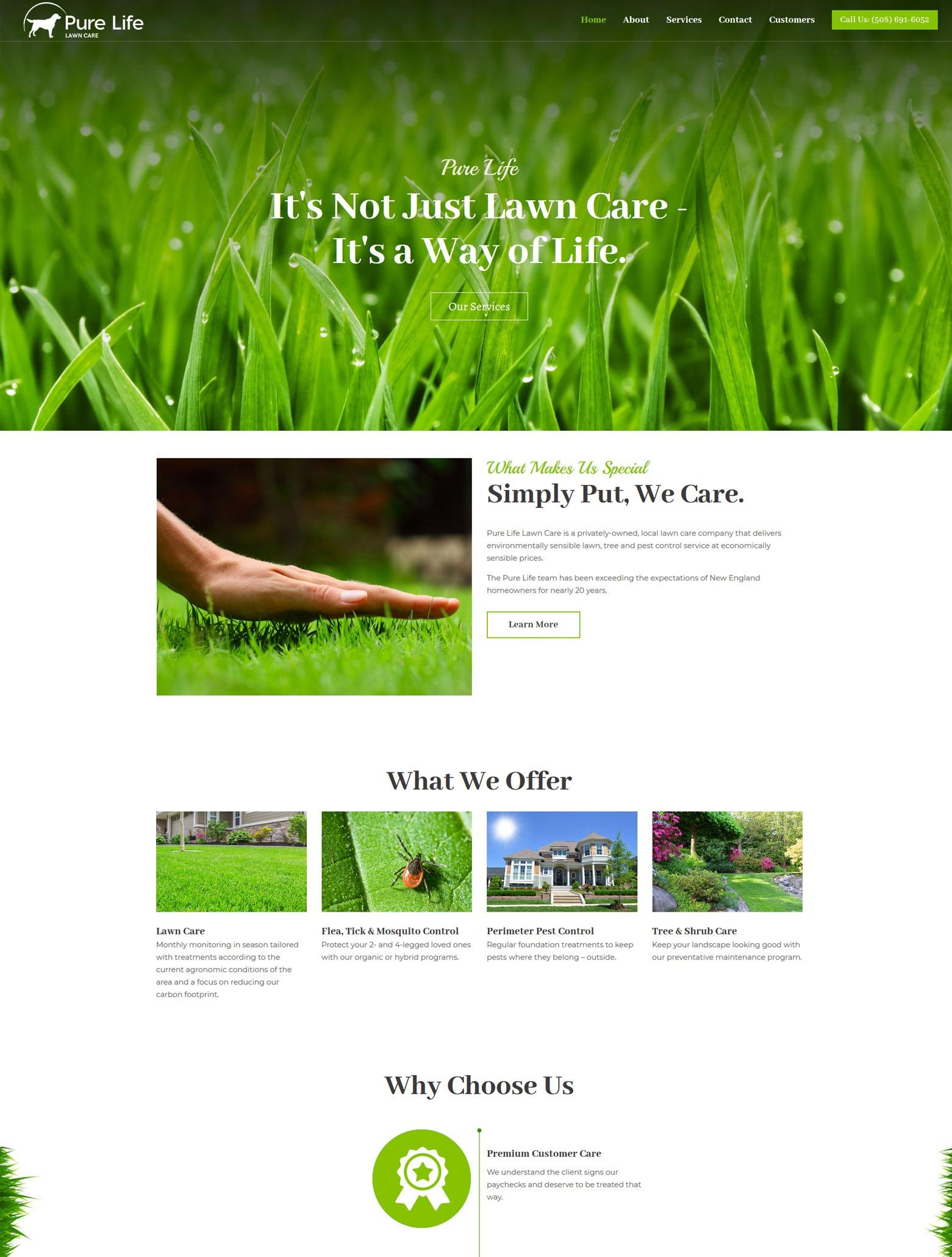 Los Angeles Landscaping Web Design Company