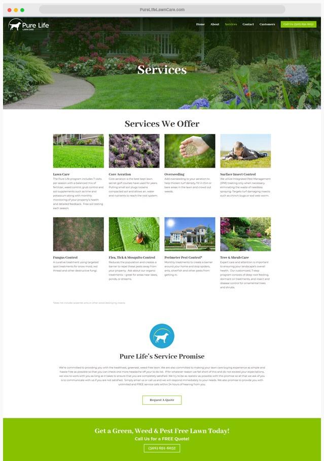Ventura County Landscaping Web Design Company