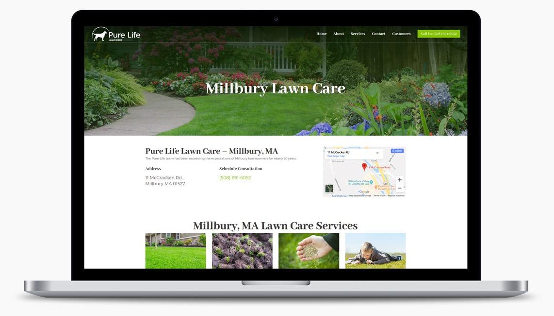 Landscaping Web Designer