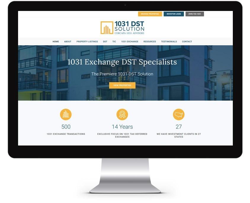 Investment Company Web Design Company