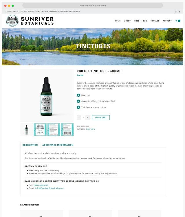 CBD Oil Web Design Company