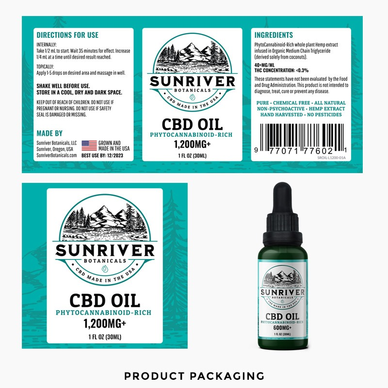 CBD Product Packaging