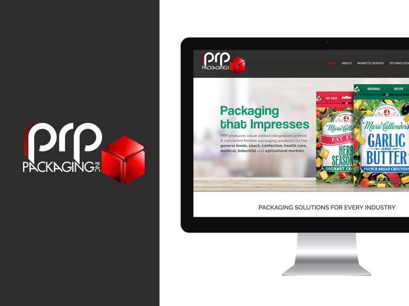 Web Designer for Packaging Company