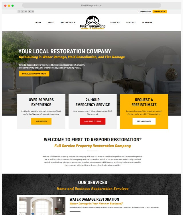 Restoration WordPress Theme