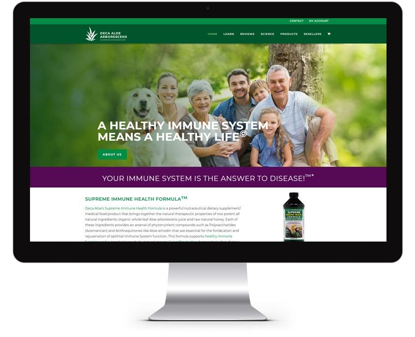 Supplement Web Design Company